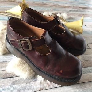 Dr. Marten Made in England Mary Jane Shoes, 8?